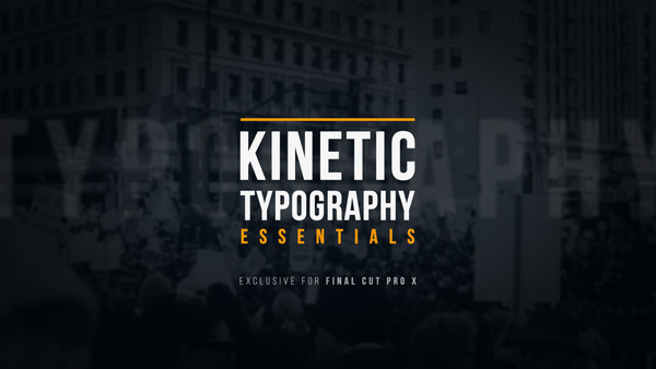 Kinetic Typography Essentials