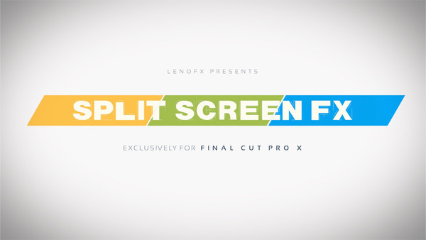 50 Split Screen FX for Final Cut Pro X Tutorial