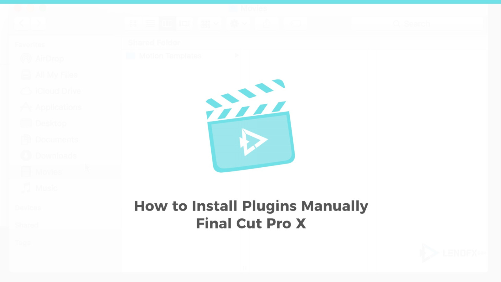 How to Install Plugins Manually for FCPX