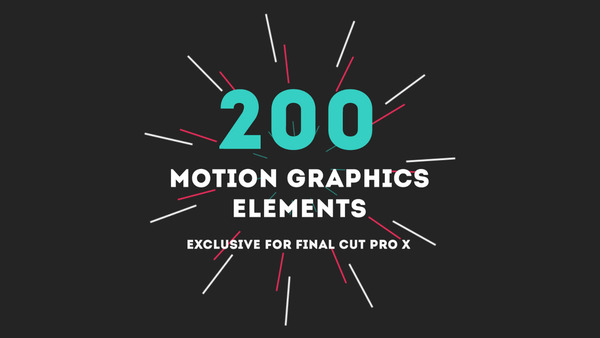 Closer Look - Motion Graphics Elements for FCPX