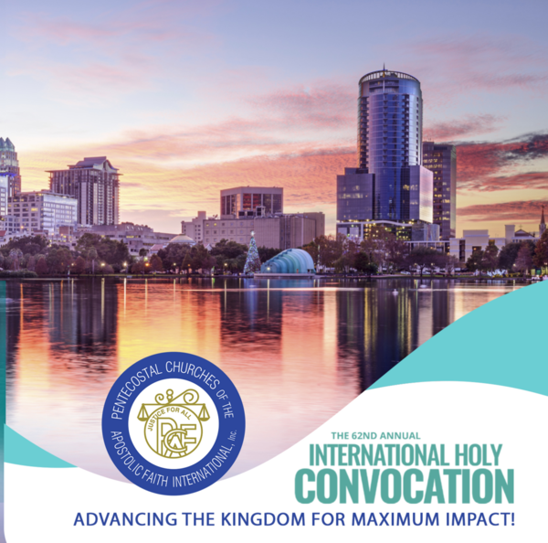 2019 PCAF Holy Convocation in Orlando,FL - Downloads