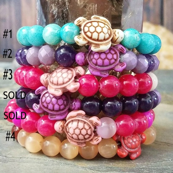 Sea Turtle Stretch Bracelets
