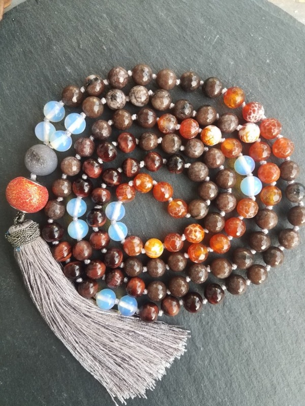 Soul Beads™ | 108 bead mala animal totem essence (vegan)