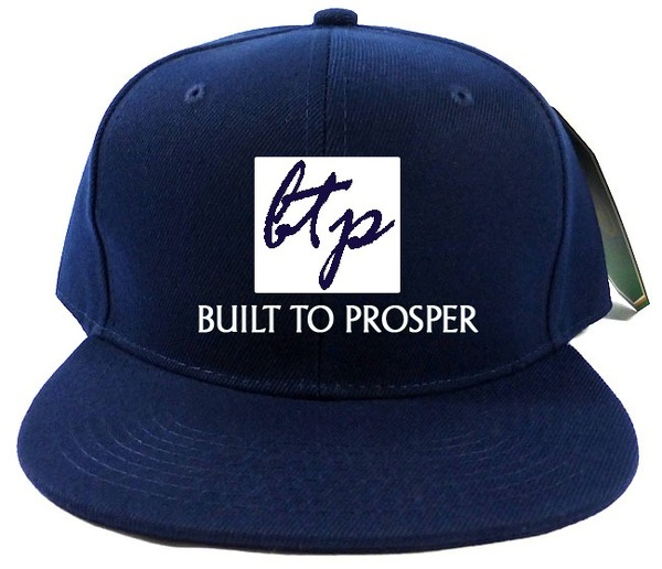 BTP Men Navy Blue Baseball Cap