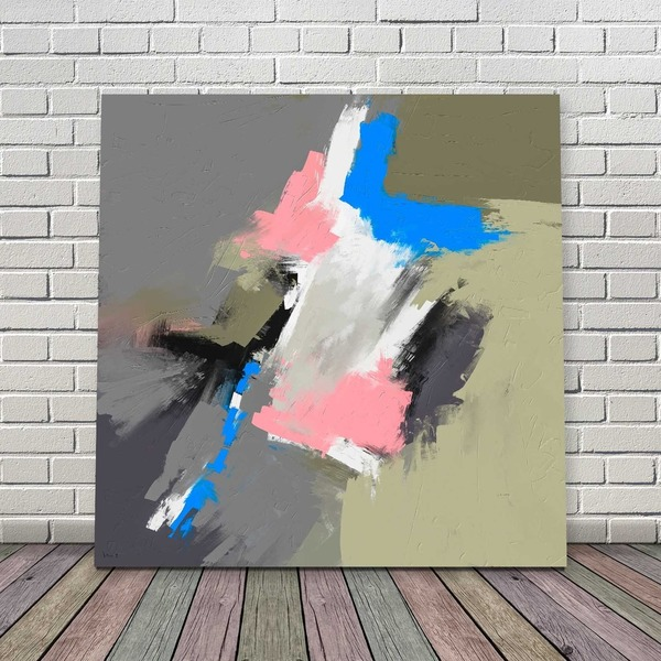 Free or Pay What You Want Downloadable Abstract Painting