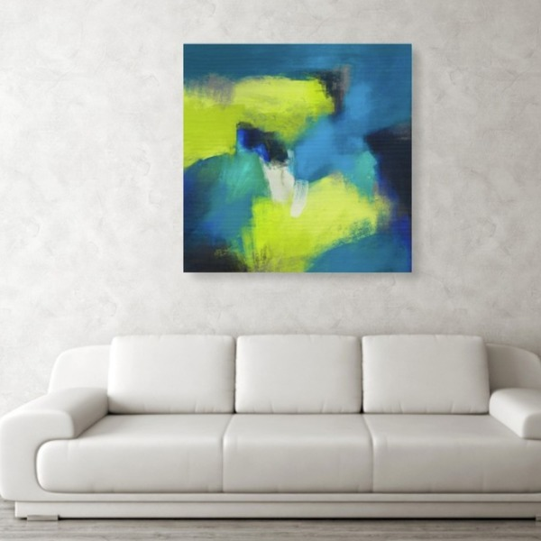 Number 19 Large Abstract Painting Printable-Free or Pay What You Want