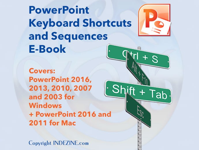 ebook powerpoint keyboard shortcuts and sequences e book indezine