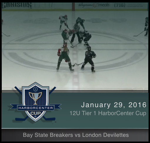 1/29/17 - 12U Tier 1 Bay State Breakers vs London Devilettes