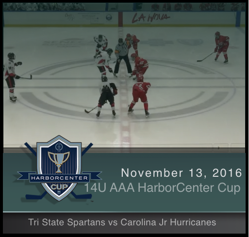 14U AAA Tri State Spartans vs Carolina Jr Hurricanes