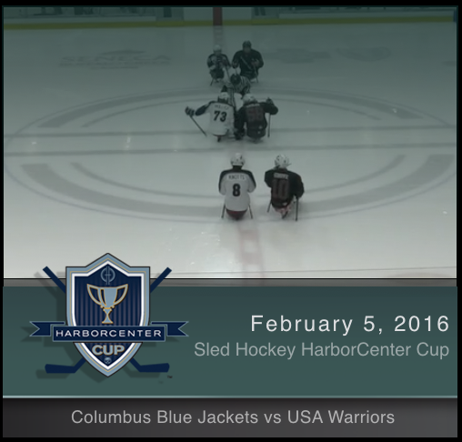 2/5/17 - Columbus Blue Jackets vs USA Warriors
