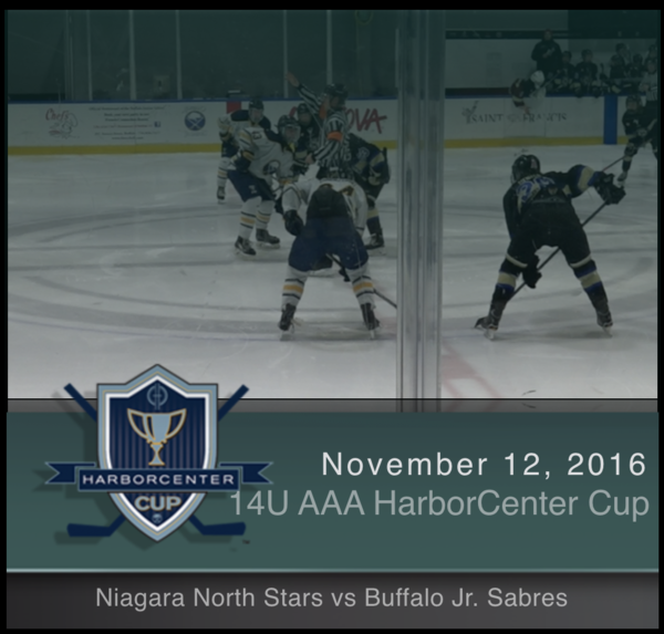 14U AAA Niagara North Stars vs Buffalo Jr. Sabres