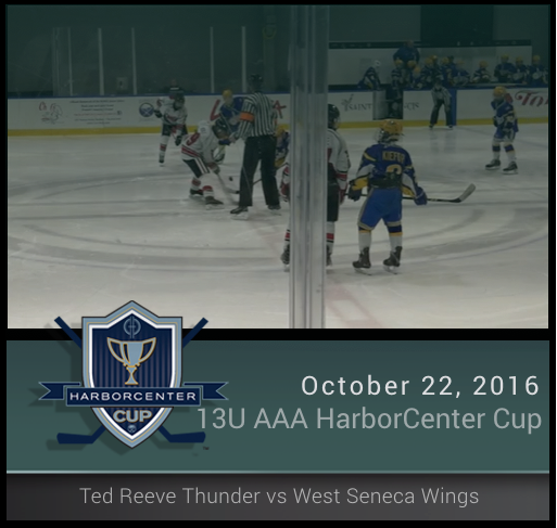 13U AAA Ted Reeve Thunder vs West Seneca Wings