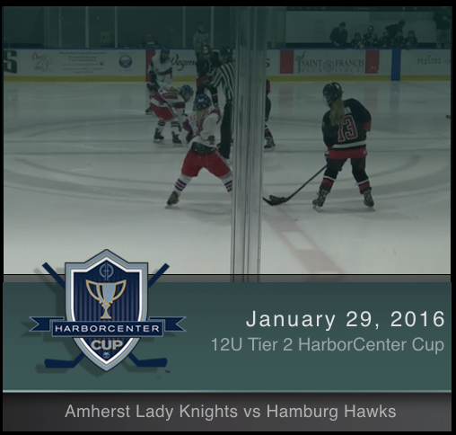 12U Tier 2 Amherst Lady Knights vs Hamburg Hawks