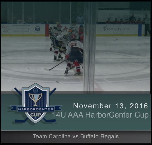14U AAA Team Carolina vs Buffalo Regals