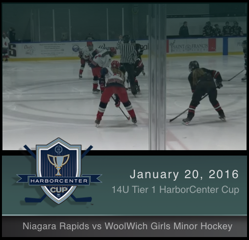 14U Tier 1 Niagara Rapids vs Woolwich Girls Minor Hockey