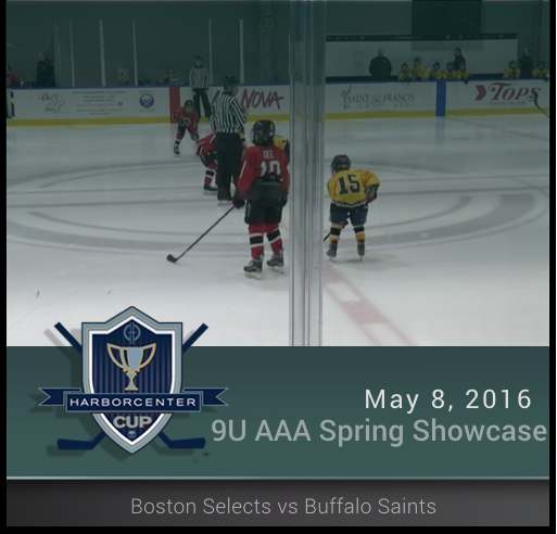5/8/16 - Spring Showcase 2007 AAA - Boston vs Saints