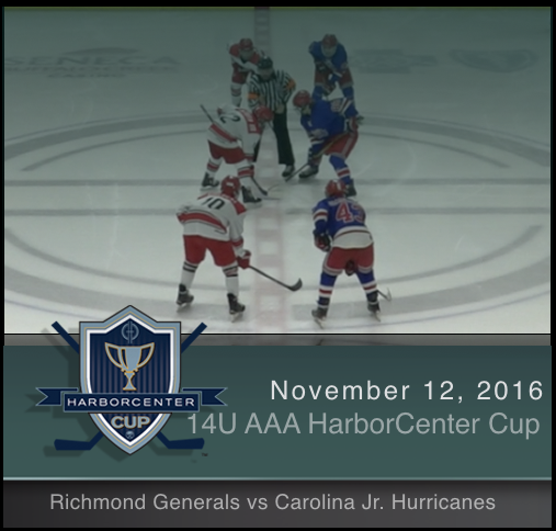 14U AAA Richmond Generals vs Carolina Jr. Hurricanes