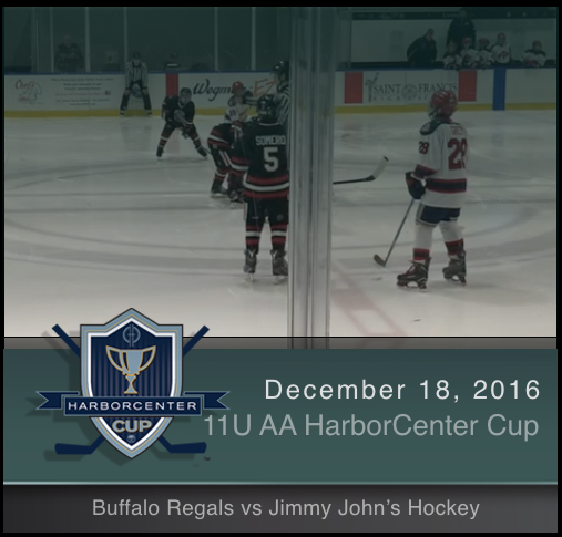 11U AA Buffalo Regals vs Jimmy John's Hockey