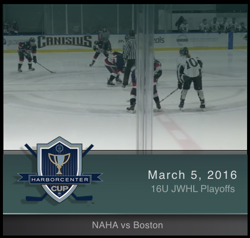 JWHL 16U NAHA Red vs Boston Shamrocks
