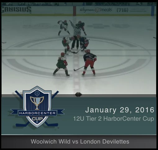 12U Tier 2 Woolwich Wild vs London Devilettes