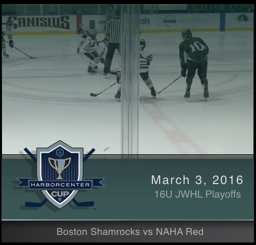 16U Boston Shamrocks vs NAHA Red