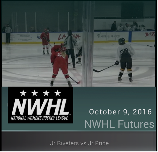 10/14/16 - 12U NWHL - Jr Pride vs Jr Riveters