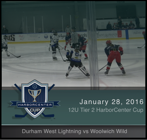 12U Tier 2 Woolwich Wild vs Durham West Lightning