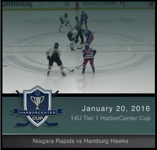 14U Tier 1 Hamburg Hawks vs Niagara Rapids