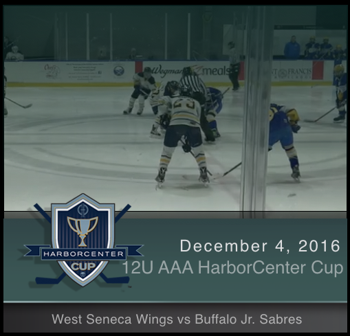 12U AAA West Seneca Wings vs Buffalo Jr. Sabres