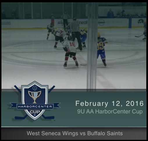 9U AA West Seneca Wings vs Buffalo Saints