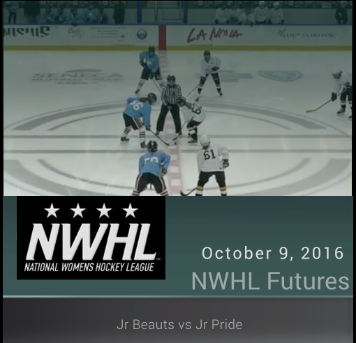 10/9/16 - 14U NWHL - Jr Beauts vs Jr Pride