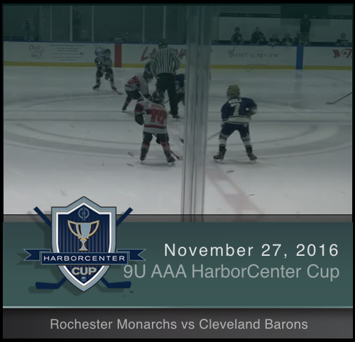9U AAA Rochester Monarchs vs Cleveland Barons (Championship)