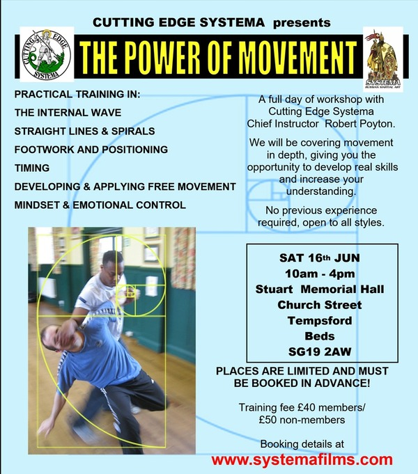 The Power of Movement Workshop