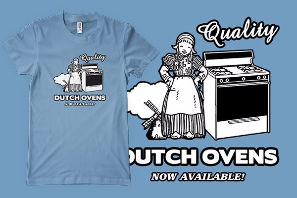 Dutch Ovens T Shirt Design Teebiz