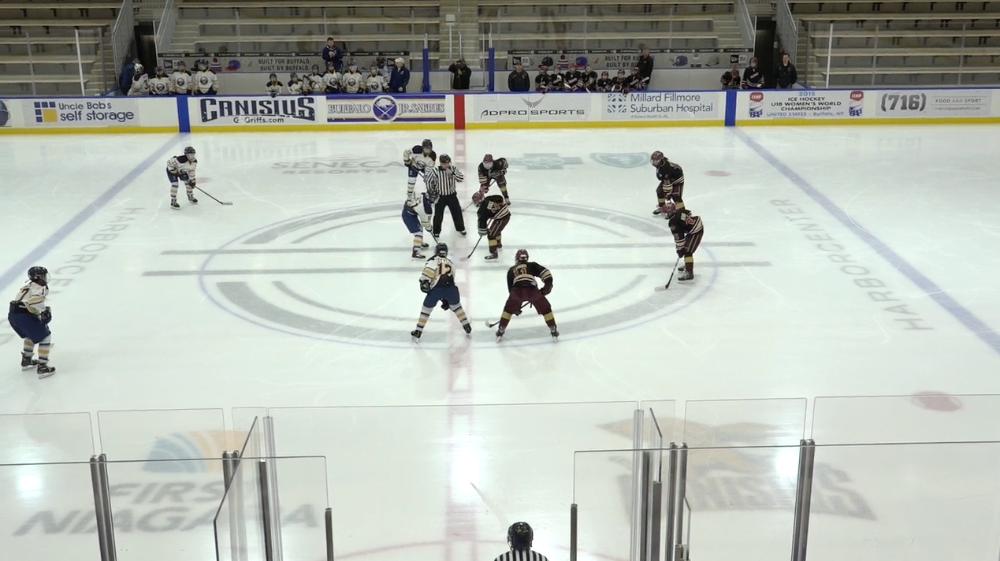 12U AAA Buffalo Jr Sabres vs Rochester Grizzlies