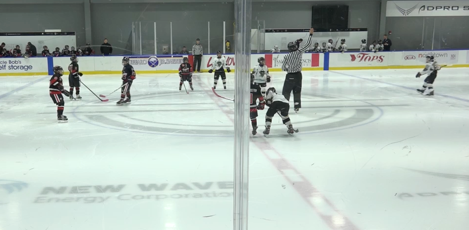 10U AAA - Amherst Knights vs Pittsburgh Pens Elite
