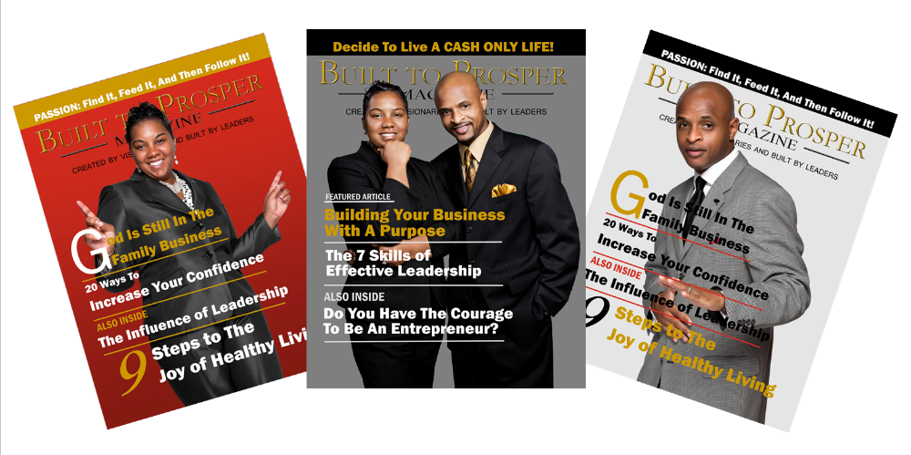 Subscribe To Built To Prosper Magazine (Annual Digital Version)