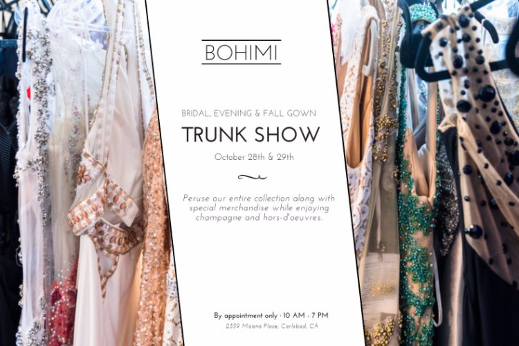 Bohimi Trunk Shows